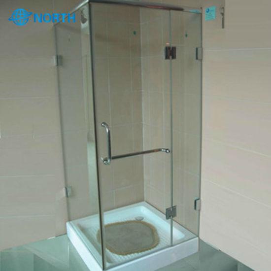 China Good Supplier 12mm Tempered Frost Bathroom Door Gl
