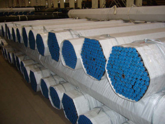 ASTM A106 Gr. B API 5L Seamless Steel Pipe Epoxy Painting