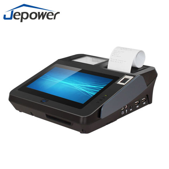 Cheap Price 3G 4G WiFi GPRS Smart NFC RFID Card Reader EDC Lottery Tablet  Touch Screen Android POS Terminal with Printer