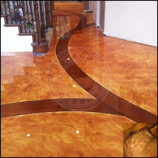Epoxy 3D Floor Coating, Metallic Resin Flooring Pigment