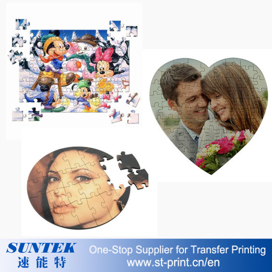Sublimation MDF Magnetic Jigsaw Puzzle Kids DIY Toys pictures & photos