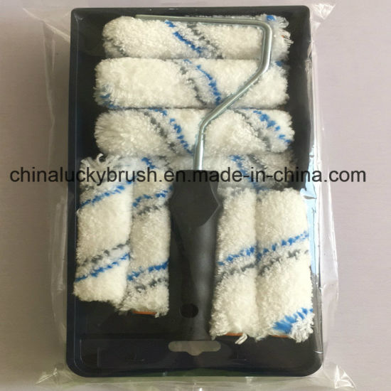 Woven Polyester Fabric Paint Roller Brush (YY-MJS0021) pictures & photos