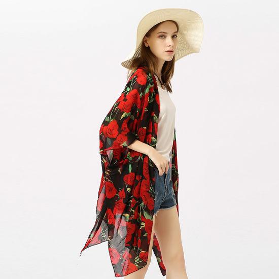 High Quality Beach Sunscreen Scarf for Women Stylish Silk Scarves