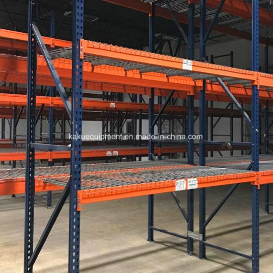 Heavy Duty Warehouse Storage American Teardrop Pallet Rack