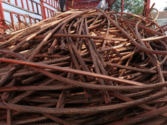 Hot Sale Copper Wire Scrap Millberry Cu99.9%-99.97%