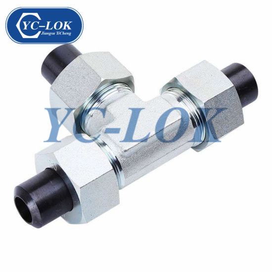 China Galvanized Pipe Fitting Hydraulic Tube Adapter - China