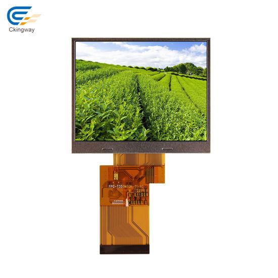 "3.5"" 240*320 Ili9341V 6: 00 O'clock Transflective TFT LCD Module"