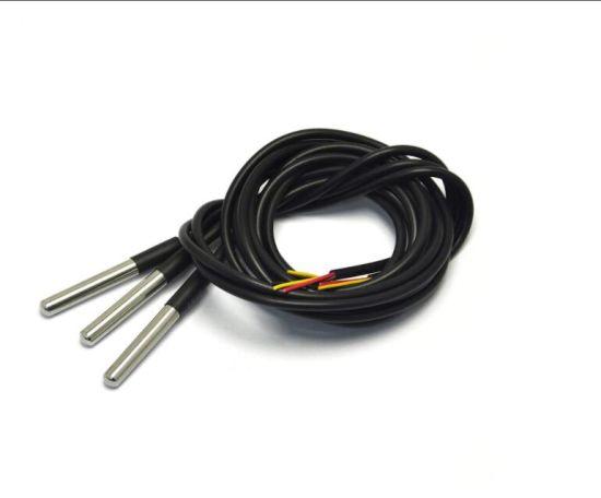 Ds18b20 Temperature Sensor Waterproof Digital Thermal Probe Sensor for Arduino (Pack of 3PCS)