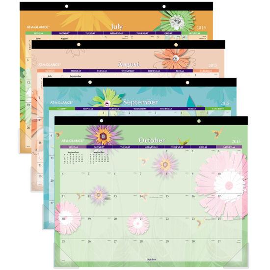 China Custom 2019 Desk Pad Calendar Printing Services China Desk