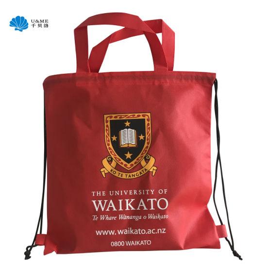 Audit Wholesale Reusable Cheap Non Woven Drawstring Bag