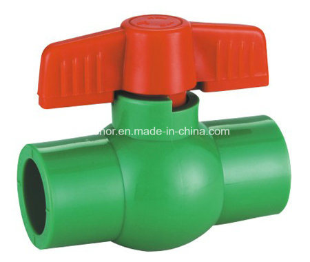 PPR Compact Ball Valve Cold and Hot Water Supply Pressure Pipe Fittings DIN 8078/8077 (R31) pictures & photos