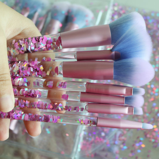 Newest Crystal Cosmetic Makeup Brush Your Own Brand High-End pictures & photos