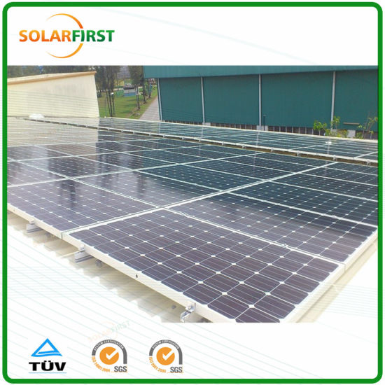 Tin Roof Solar Panel Mounting Structure pictures & photos
