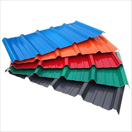 Prime CGCC Prepainted Galvanized Building Steel Roofing Sheet