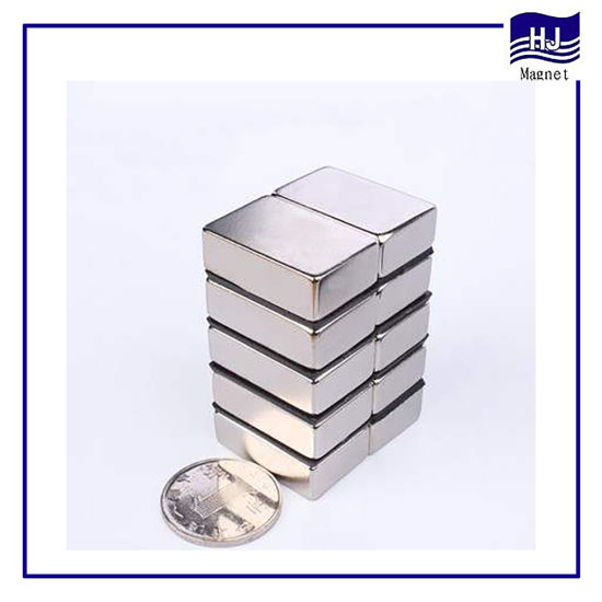 Permanent Square Block Neodymium Magnetic Permanent Magnet