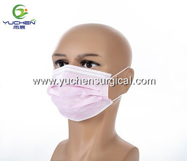 High Density Fliter Layer Health Disposable 3 Ply Non Woven Fabric Face Mask