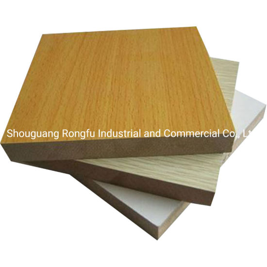 Decorative Melamine MDF for Building Material and Furniture