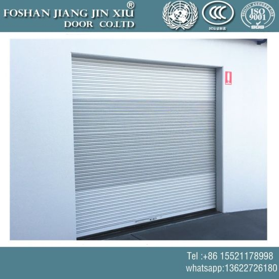Wholesale Steel Cheap Price Roller Shutter Garage Metal Iron Door