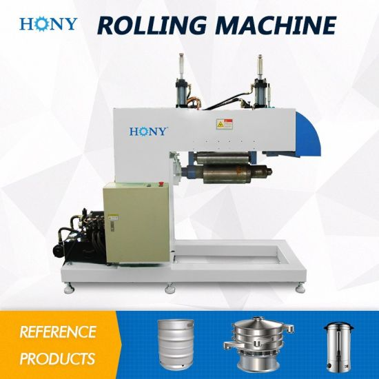 Hydraulic Roller Plate Rolling Equipment for Cone Forming 2186