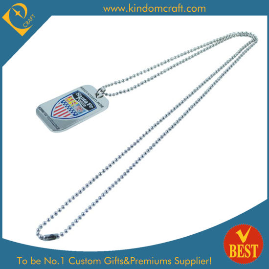 Wholesale Custom Fashion Dog Tags with Metal Ring