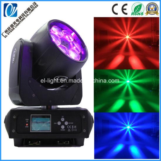 High Brightness Super Zooming Beam Wash 6*40W LED Wash Moving Head Lighting