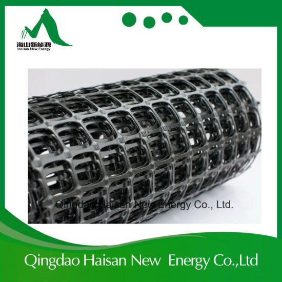 50kn/50kn Anti-Corrosion Road Construction Material PP Biaxial Geogrid pictures & photos