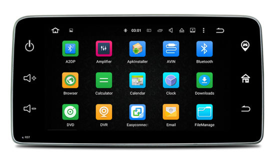 "Anti-Glare Carplay for 9""Smart GPS Navigator Android 7.1-2+16g Car Videos HD 1024 * 600 pictures & photos"