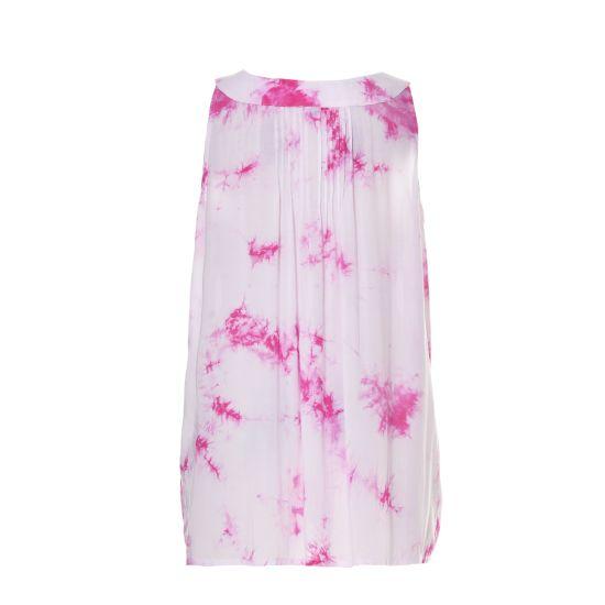 Sleeveless New Design Flower Printed Ladies Leisure Blouse for Summer 2020