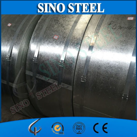 Supply Galvanized Steel Strip with Regular Spangle pictures & photos
