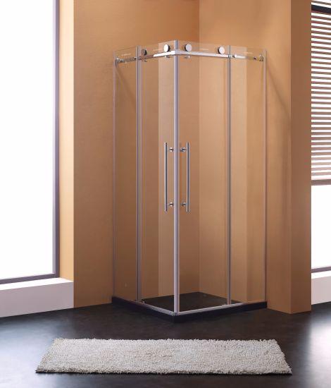 China Simplism Semi-Frame Design Sliding Door Shower Room Shower ...