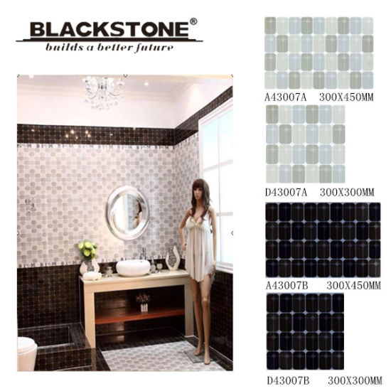 China 300X450 New Bathroom Ceramic Tile for Floor or Wall - China ...