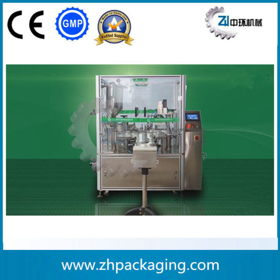 Mechanical Hand Nail Polish Eyedrop Filling Capping Machine pictures & photos