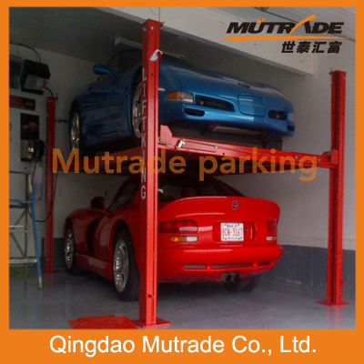 Hot Sale Ce 3000kg Two Cars Hydraulic Automatic Car Lift