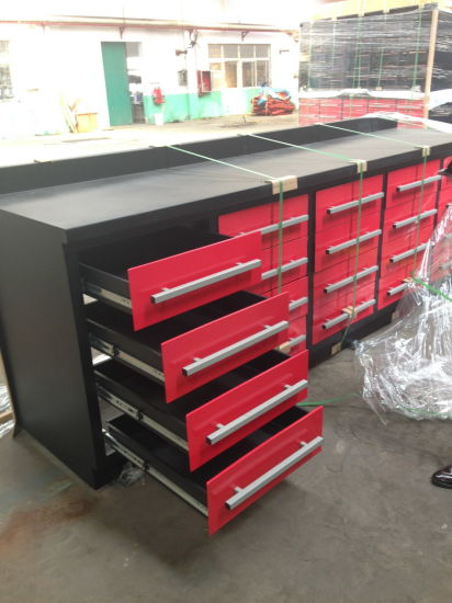 Terrific America Popular 10Ft Wood Top Metal Work Bench With 20 Drawers Caraccident5 Cool Chair Designs And Ideas Caraccident5Info