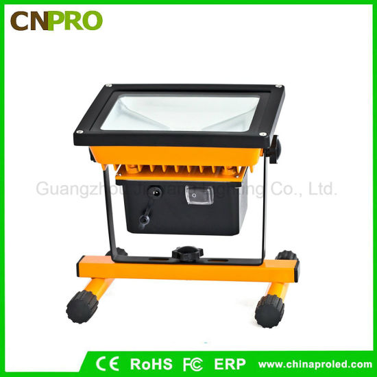 Outdoor Camping Portable Rechargeable Flood Lights 10W/20W/50W Spotlight pictures & photos