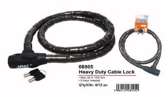 Cable Lock, Motorcycle Lock, Bicycle Lock (AL-08905)