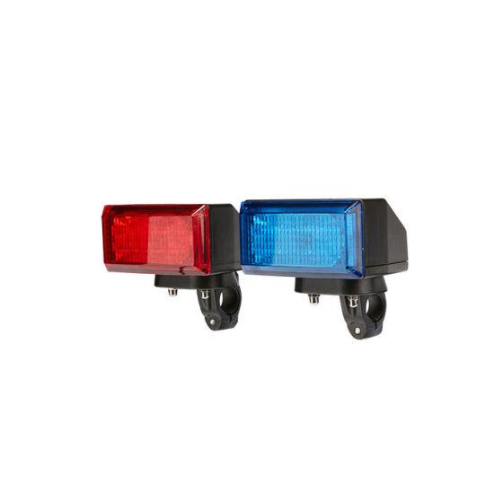 Senken 24W LED Warning Flashing Front Light Head Light for Police Patrol Motorcycle