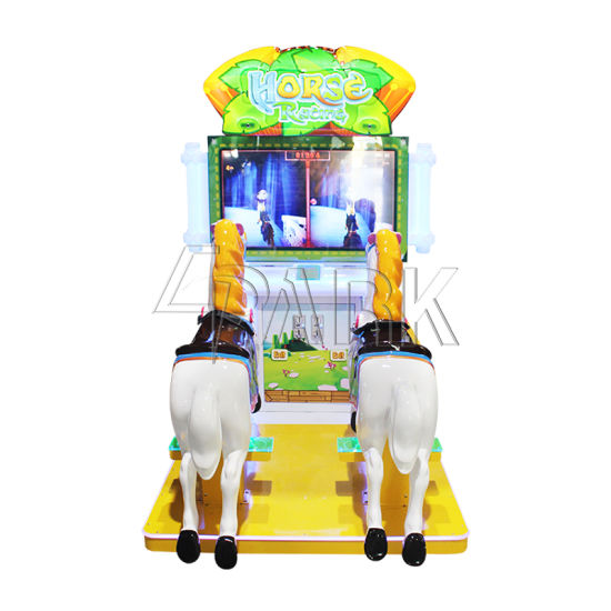 Epark Factory Double Player Horse Racing Ride Coin Operated Game Machine for Sale pictures & photos