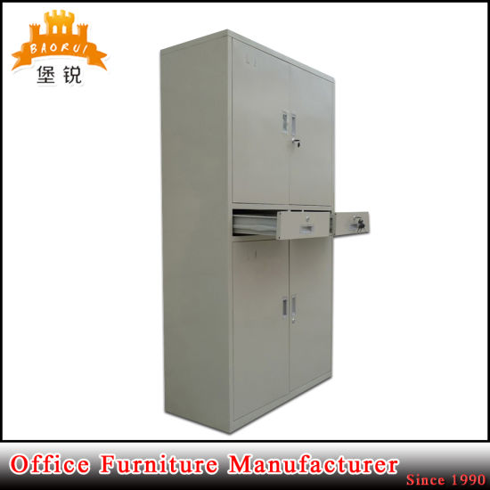 Cheap Price Metal Swing Door Office Steel File Storage Filing Cabinet with Drawer pictures & photos