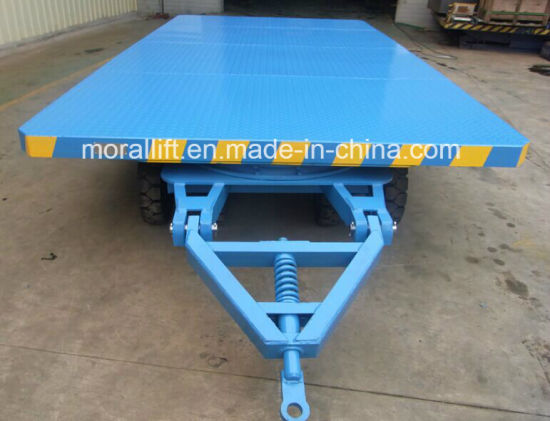 Industrial use heavy loading capacity no power trailer carriage pictures & photos