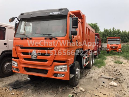 Original Conditon Direct Selling Tipping Truck 10 Wheeler 35 Ton Heavy Duty Wholesale Used HOWO Dump Truck 2015 Model 371HP 6X4 in Africa