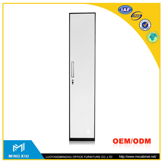 Mingxiu Office Furniture 1 Door Metal Locker Cabinet / Single Door Locker pictures & photos