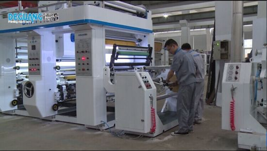 High Speed Rotogravure Printing Machine for Plastic Paper pictures & photos