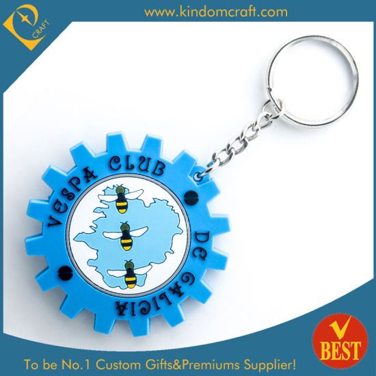 Hot Sale Customized Souvenir Die Casting Rubber PVC Key Chain with High Quality