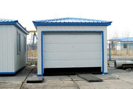 China Light Steel Frame Prefabricated Portal Car Garage Building ...