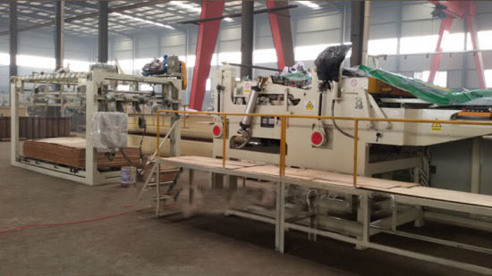 Wood Veneer Hydraulic Laminating Hot Press Machine pictures & photos