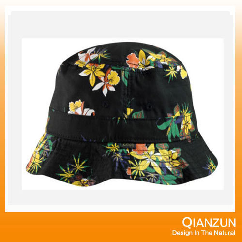 100% Cotton Custom Full Printed Pattern Bucket Cap pictures & photos