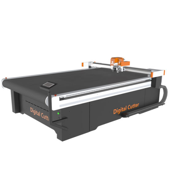 Zhuoxing Oscillating Knife PVC Soft Crystal Plate Cutting Machine with Automatic Feeding