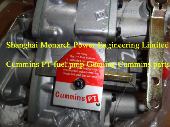 China Cummins Different Engine PT Fuel Injection Pump