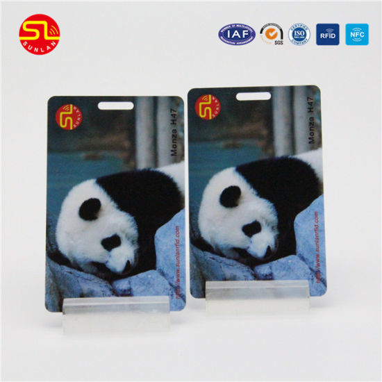 Cr80 Full Color Printing PVC Magnetic Card with Number Encoding pictures & photos